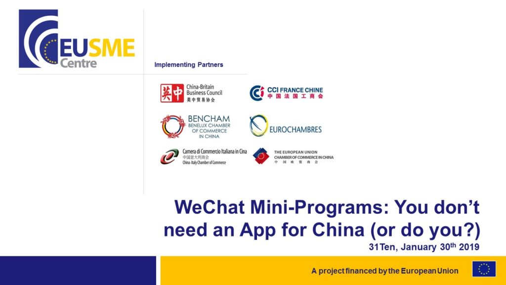 What are WeChat Mini Programs
