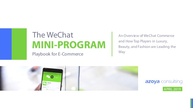 Report about how to leverage WeChat Mini Program for eCommerce