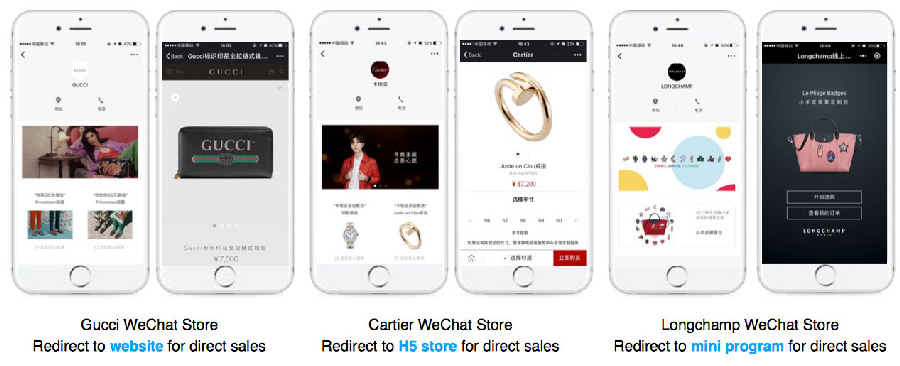 WeChat Brand Zone | Case studies and campaigns by high-end brands